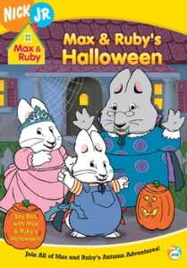 Max and Ruby's Halloween DVD