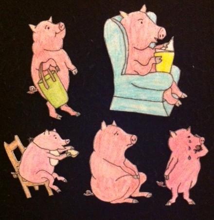 This Little Piggy Flannelboard