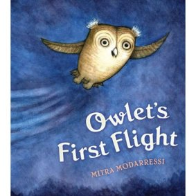 Owlet's First Flight by Modarressi