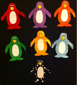 Pippa's Penguin Flannelboard