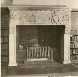 Fireplace in Children's Room