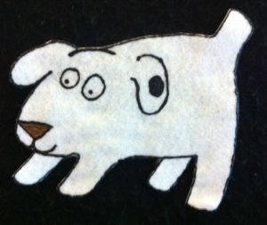 DogsColorfulDayFlannelboard1