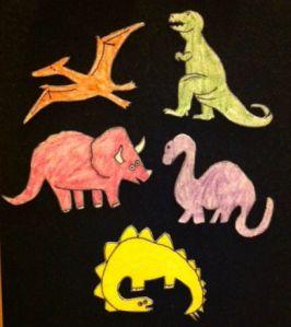 FiveDinosaurs