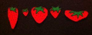 FiveRedStrawberriesFlannelbaord