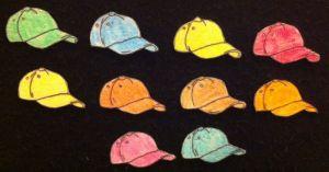 10 Hats Flannelboard
