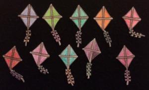 10 Kites Flannelboard