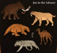 Mammoths in the Ice Age Flannelboard2 blog labeled
