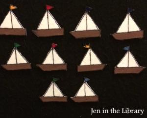 10 Boats Flannelboard logo