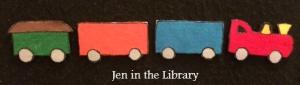 Here Comes the Choo-Choo Train Flannelboard logo