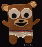 Bear in Underwear Flannelboard 1 logo