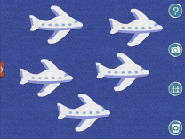 Five Little Airplanes felt board 2
