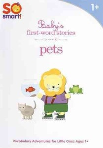 baby's first word stories pets dvd