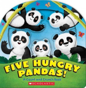 Five Hungry Pandas by Barad-Cutler