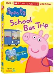 peppa pig school bus trip dvd