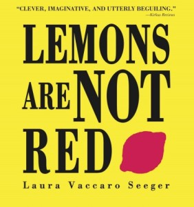 Lemons are not red by seeger