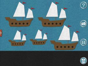 App - Flannelboard - Five Little Ships