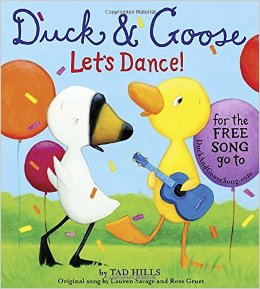 Duck and Goose Let's Dance by Hills