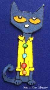 Pete the Cat Flannelboard 1 name