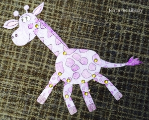 Dance Giraffe Storybox Craft name - Copy